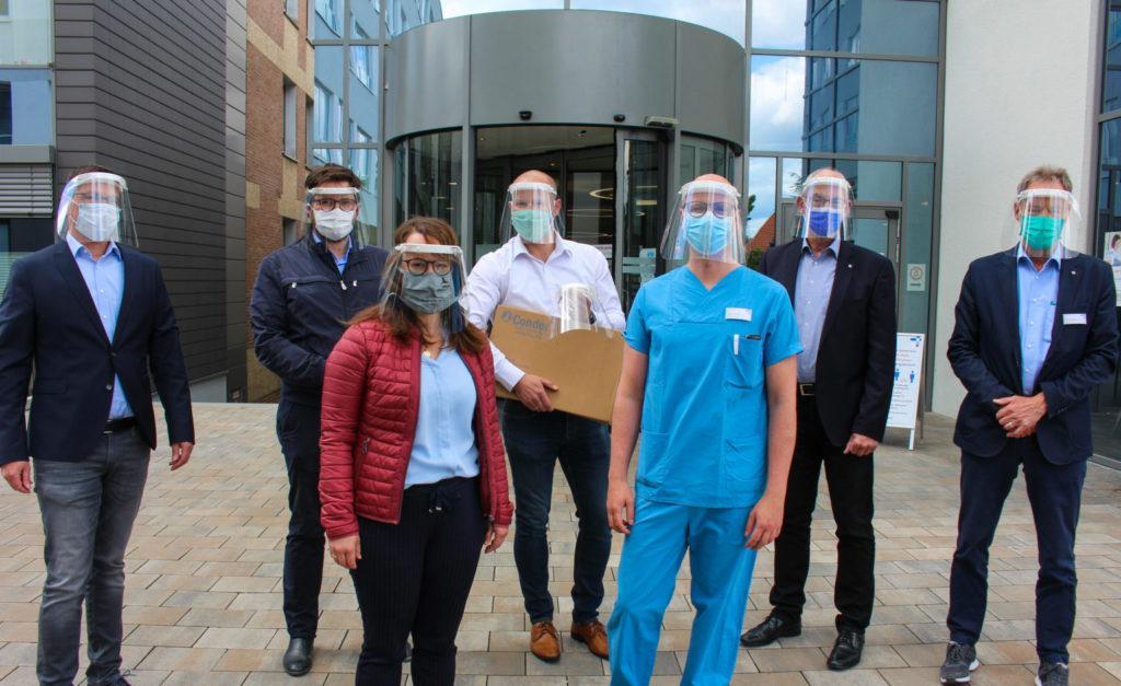 Mit 3D-Druck gegen die Pandemie